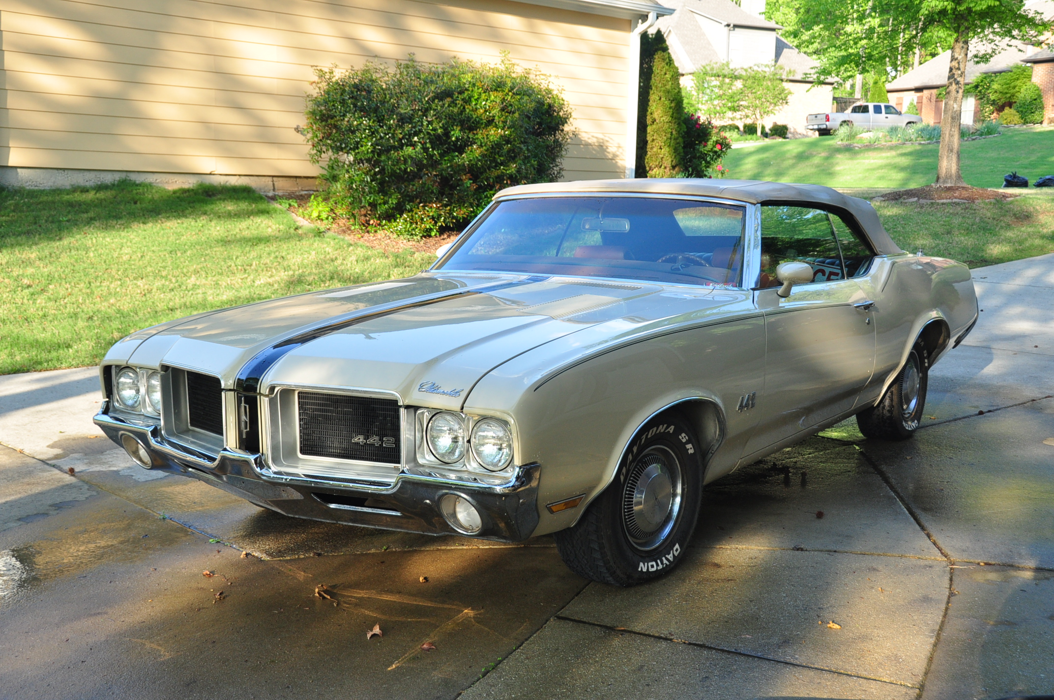 David Black's Oldsmobile 442